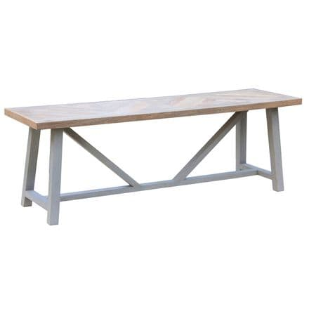 Nordic Grey Collection Dining Bench